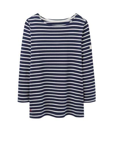 espère à rayures bleu marine-tailles uk 8-20 w Joules femmes harbour jersey top