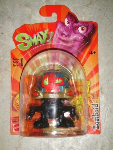 SMAX Series 1 Action Figure by Mattel with Game Booklet NEW Zomboid