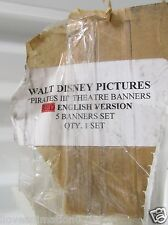 Disney Pirates of the Caribbean Yun-Fat Chow Sao Feng Vinyl Movie Poster