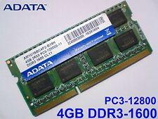 4GB DDR3-1600 PC3-12800 1600Mhz 1333 ADATA AM1U16BC4P2-B19H RAM ARBEITSSPEICHER