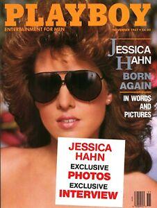 Back Issue November 1987 Playboy Magazine ~ Jessica Hahn Cover ~ FINE (F)   eBay
