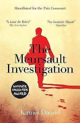 1 of 1 - The Meursault Investigation, Kamel Daoud, New Book