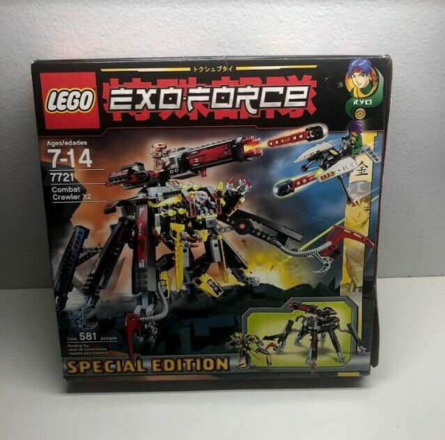 Lego Eco-Force set  7721 Combat Crawler X2 specialee edizione 100% completare open scatola  moda classica