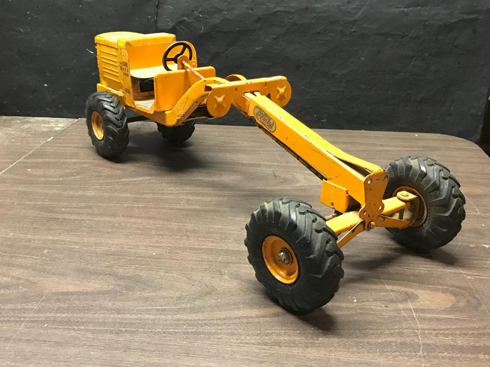 Pressed Steel doepke Model  toys Adams MOTEUR DIESEL ROAD GRADER  promotions passionnantes