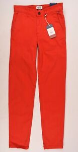 TOMMY-HILFIGER-Men-039-s-Red-Stretch-Chinos-Trousers-Pants-size-W28-L34