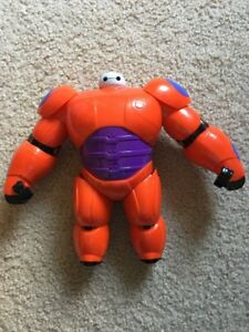 Big Hero 6 Armor Up Baymax Action Figure Toy Ebay