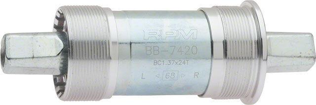 RPM STEEL CARTRIDGE 68 X 103 BICYCLE BOTTOM BRACKET W// M8 BOLTS