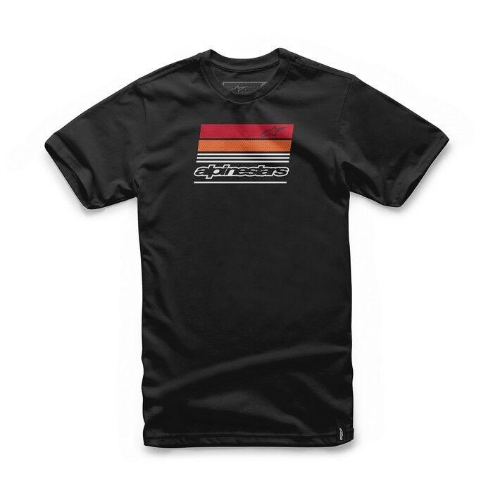 Noir Alpinestars Nouveautés Shirt Coton Homme T HwZwqdS