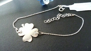 FANCY-BRACELET-CLOVER-SOLID-925-STERLING-SILVER-MADE-IN-ITALY