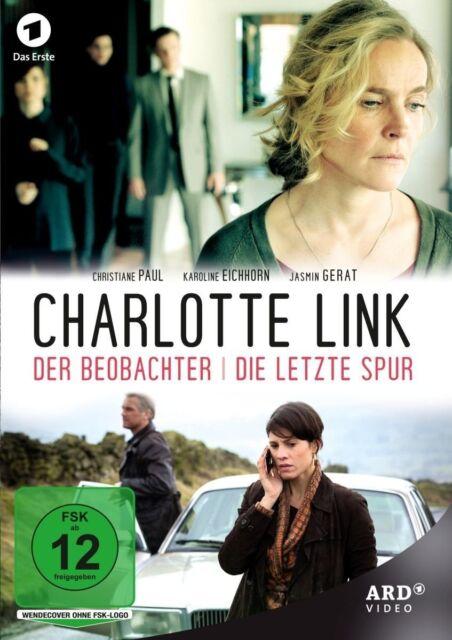 CHARLOTTE LINK-DER BEOBACHTER/DIE LETZTE SPUR PAUL,CHRISTIANE/+ DVD NEUF
