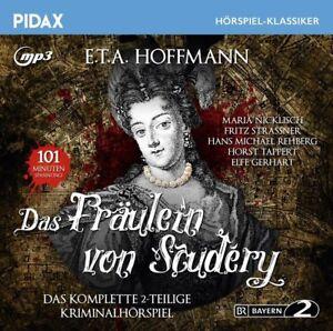 E-T-A-Hoffmann-Das-Fraeulein-von-Scudery-Pidax-mp3-CD-NEU-OVP
