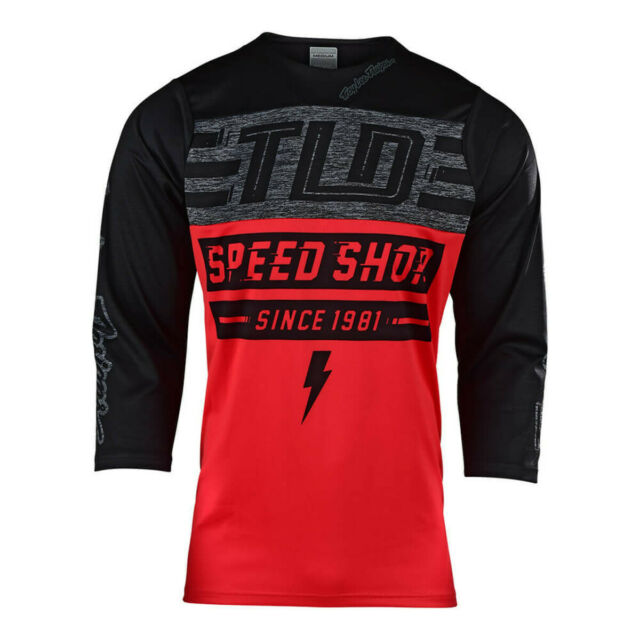L Mens Red Troy Lee Designs Ace Jersey