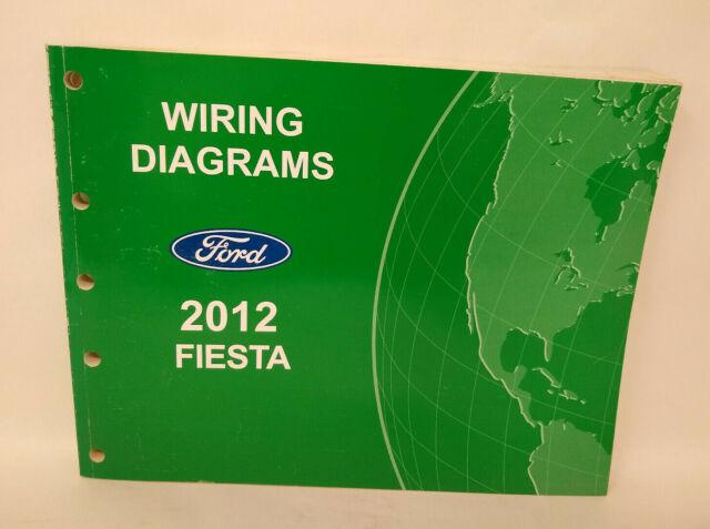 Oem 2012 Ford Fiesta Wiring Diagrams Service Manual
