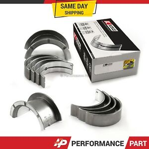 King Main Bearings 0.25mm Undersize Fit 84-92 Toyota 2.8L 3.0L 5MGE 7MGE 7MGTE