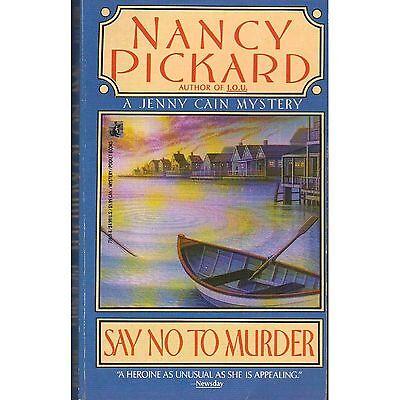 Say No To Murder Nancy Pickard Pb 1988 Jenny Cain ᴷ P1 Ebay border=