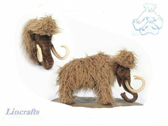 Hansa Mamma Mammoth 5994 Plush Soft Toy Sold by Lincrafts Established 1993