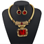 Bohemia-Women-Choker-Chunky-Statement-Bib-Alloy-Charm-Pendant-Necklace-Jewelry thumbnail 55