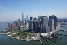 NEW YORK CITY SKYLINE LANDSCAPE POSTER STYLE C 24x36 HI RES 9MIL PAPER