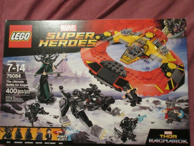 Lego Set: Super Heroes - Ultimate Battle for Asgard - 400 pcs - Free Shipping
