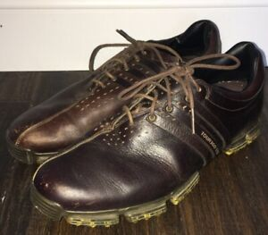 zapatos de golf adidas tour 360 boost blue 08