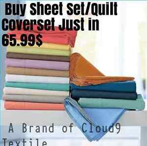 CLOUD9-AUS-Size-1000-TC-Egyptiancotton-sheet-set-QuiltCoverset-ALL-solid-color
