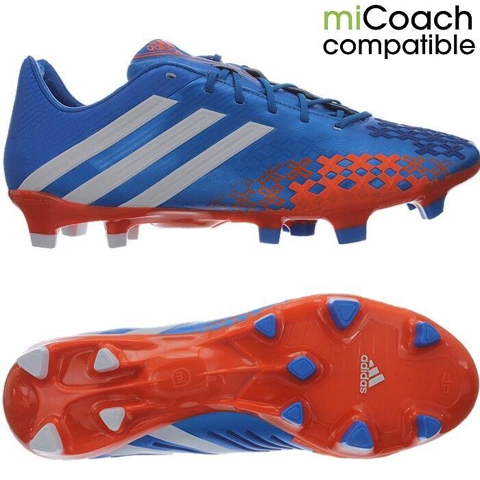 Adidas ProugeATOR LZ TRX FG Hommes football bottes chaussures studs bleu Orange OP nouveau