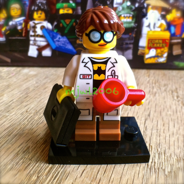 71019 LEGO NINJAGO MOVIE Minifigures GPL Tech Geek Girl #18 FACTORY-SEALED mug