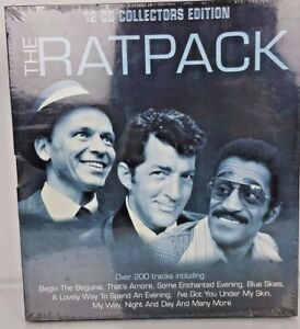 The-Ratpack-12-CD-Collectors-Edition-Frank-Sinatra-Dean-Martin-Sammy-Davis