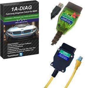 1A-DIAG K+DCAN / KLine + ENET Diagnosepaket für BMW INPA ISTA E-SY NCS