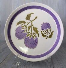"Vintage MIKASA Duplex Ben Seibel PLUMBERRY Salad Plate 7 1/4"""