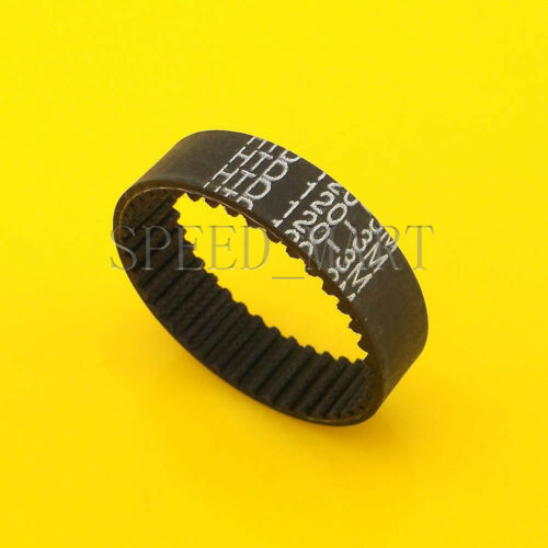 120-3M HTD 3mm Timing Belt 40 Tooth Cogged Rubber Geared 10mm Wide CNC Drives