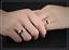 Coppia-Fedine-Fedi-Fede-Anelli-Anello-Fidanzamento-Promessa-San-Valentino-Regalo miniatura 4