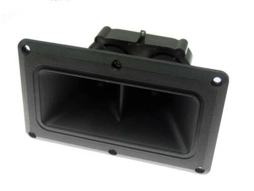 """SS Audio for Peavey 115TLS Horn Tweeter Replacement Dual Driver 3.75/"""" x 6.375/"""""""