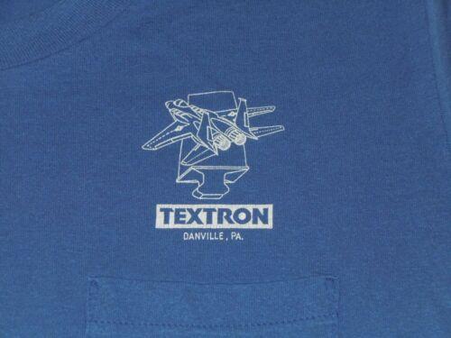 TEXTRON AVIATION DANVILLE PA ENGINES SHIRT MENS XL