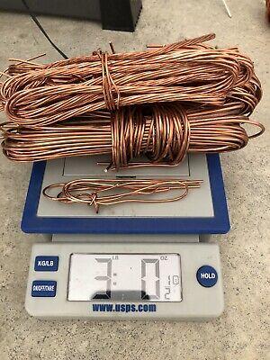 3 Lb .999 Copper Scrap Bright Chop Pellet Granule Orgone Art Craft Melt Shot