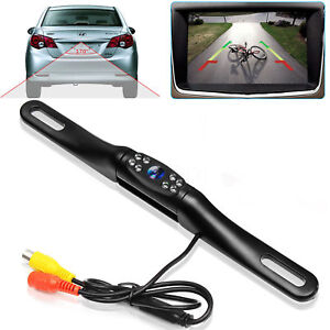 Waterproof Car License Plate Reverse Rear View Camera 8led Infrared Night Vision Ebay Motors Car Video