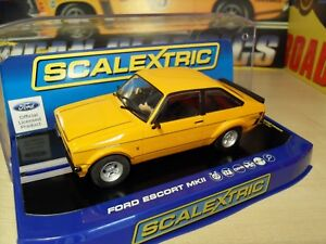 Scalextric C3426 Ford Escort Ii - Mk2 Mkii Mexique 'l.ed'- Neuf dans l'emballage