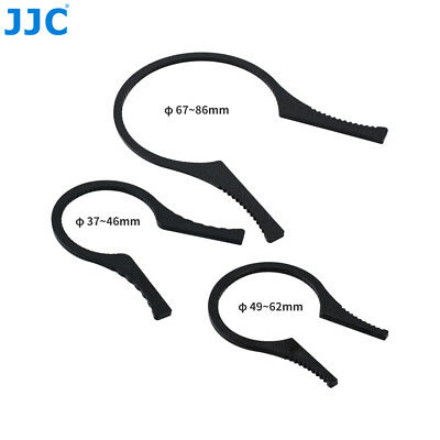 49 to 62 mm and 67 to 86 mm suitable for loosening fixed or angled filters and lenses JJC filter pliers filter wrench 37 to 46 mm