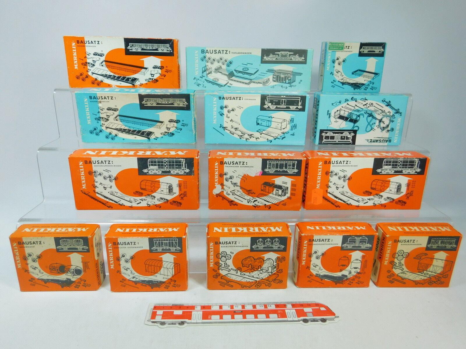 Av417-2x Märklin h0 empty Carton  4914+4921+4950+4905+4910+4918+4903 etc