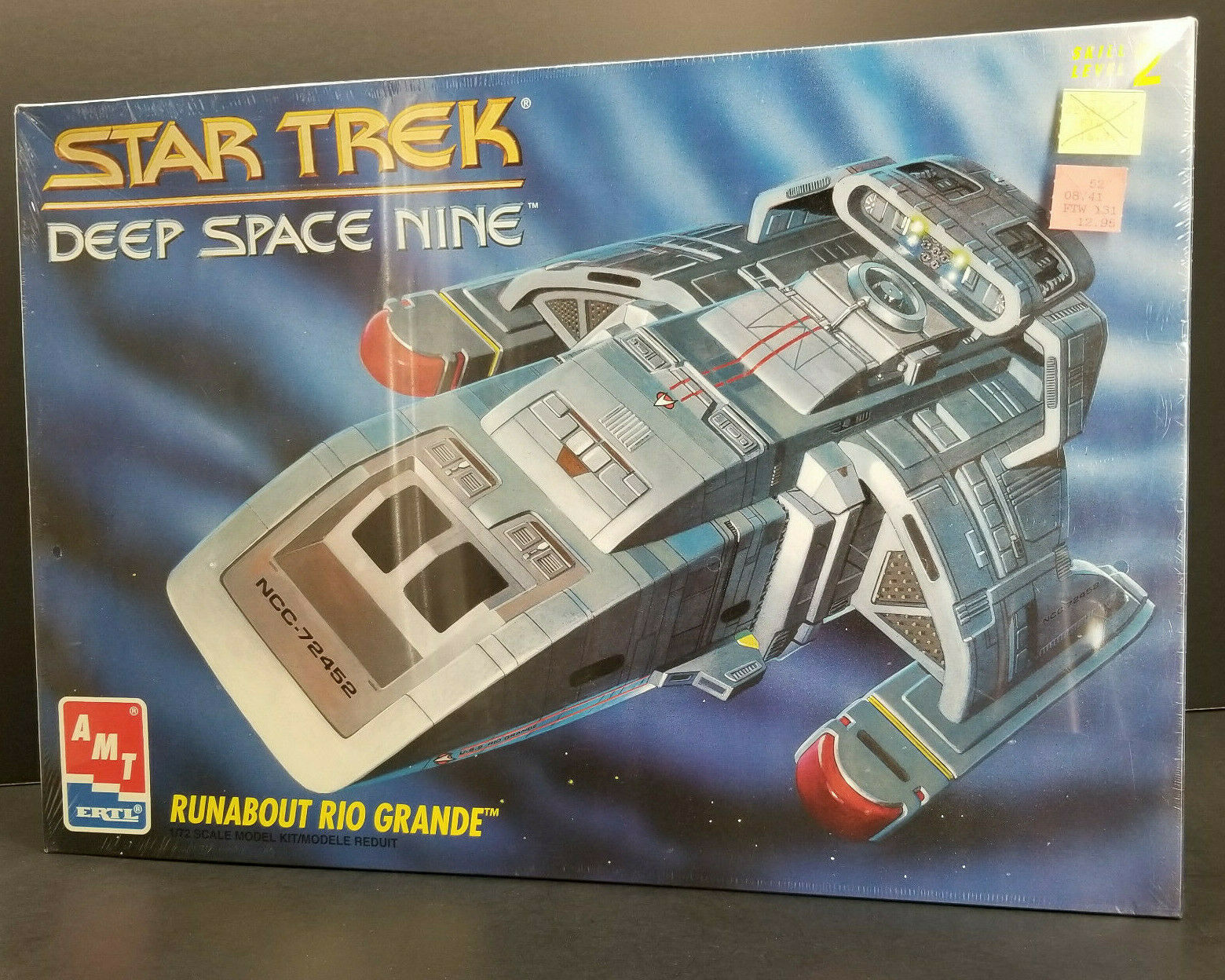 Runabout Rio Grande Star Trek Deep Space Nine AMT Model Kit 1993 Mint in Sealed
