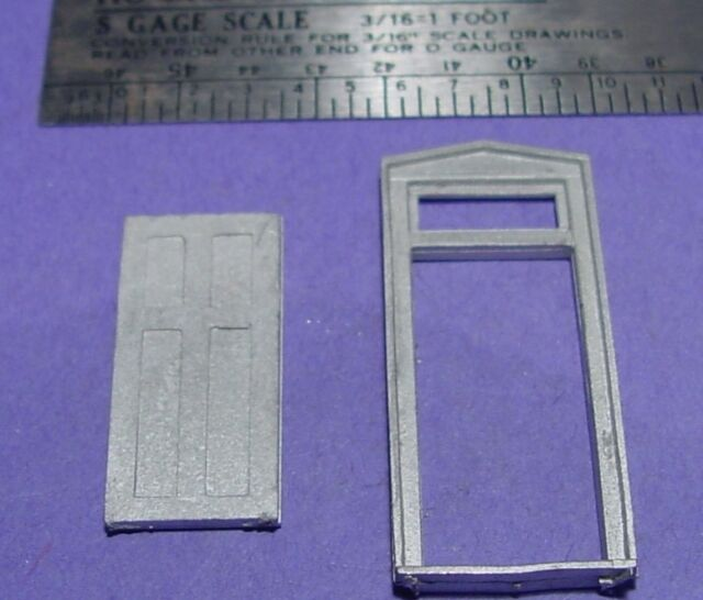 S SCALE Sn3 1//64 WISEMAN MODEL SERVICES DETAIL PARTS S325  CREAM CANS