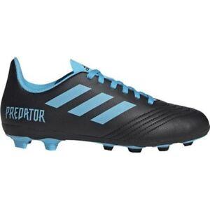 Adidas Predator 19.4 FxG Jr G25823 football shoes black blue Size:5