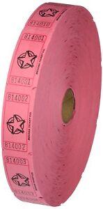 Pink-Single-Roll-Raffle-Tickets-W-Star