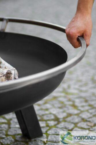 Ø 80 cm Feuerschale aus Stahl Höhe 41 cm Feuerkorb Grillfeuer Feuerstelle