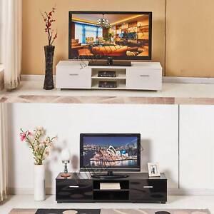Westwood Moderne Meuble Tv Stand Armoire Brillant Maison Meubles Avec Tiroirs Ebay