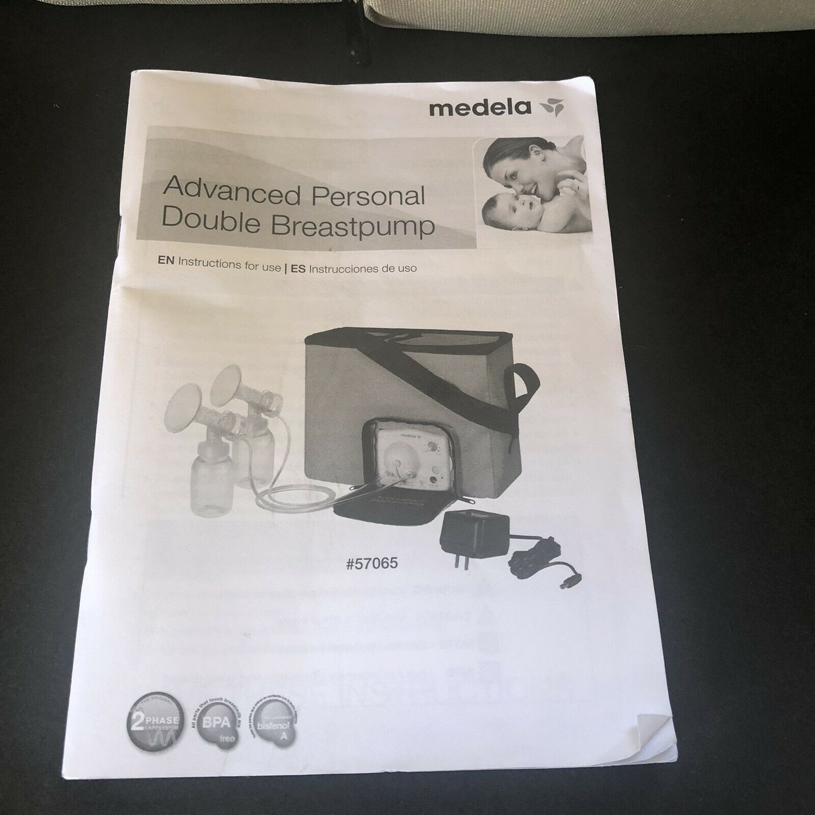 Medela Advanced Personal Double Breastpump With Power Cord For