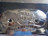 Shovelhead & Ironhead Sportster 1967/1978 Eagle Spirit Air Filter Cover Insert