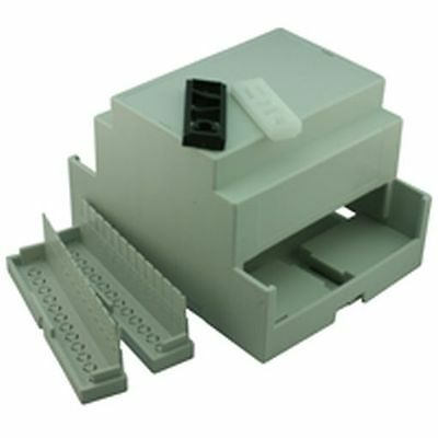 DIN Rail Mounting Box Case x12 Width