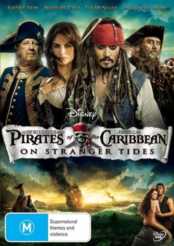 1 of 1 - Pirates Of The Caribbean - On Stranger Tides (DVD, 2011)*R4*terrific Condition