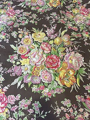Chintz ~ Ralph Lauren Garden Gate King Duvet Cover &  Ruffled Shams ~ PRETTY